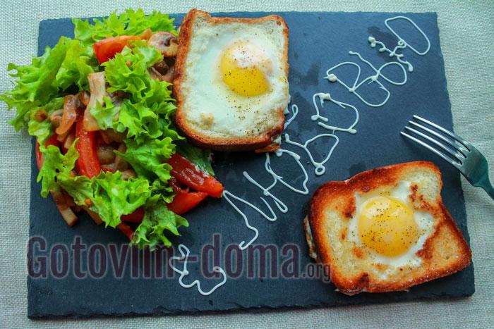 Романтический завтрак для любимого в домашних условиях