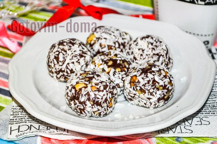 вкусные шоколадные конфеты легко и просто