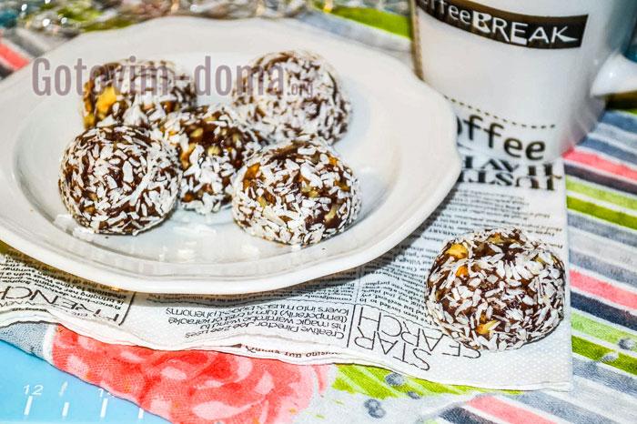 шоколадные конфеты в домашних условиях рецепт с фото