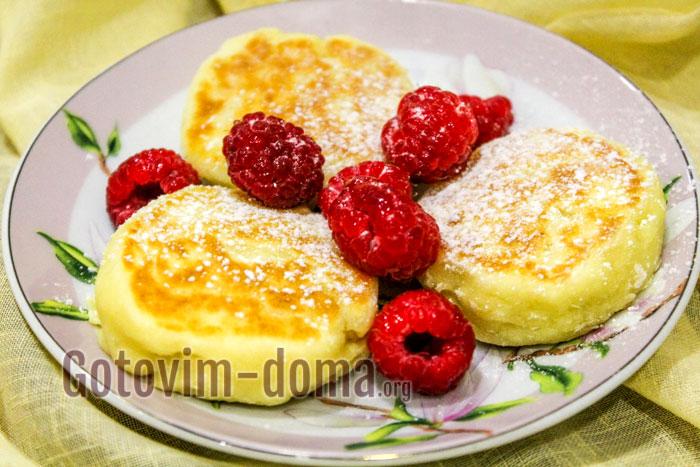 сырники из творожного сырка пошаговый рецепт