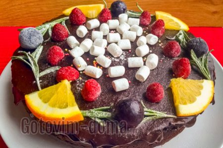 шоколадный торт легко и просто
