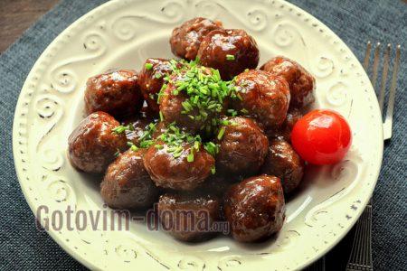 вкусные фрикадельки в соусе рецепт с фото