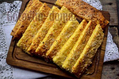 сырное печенье пошагово с фото