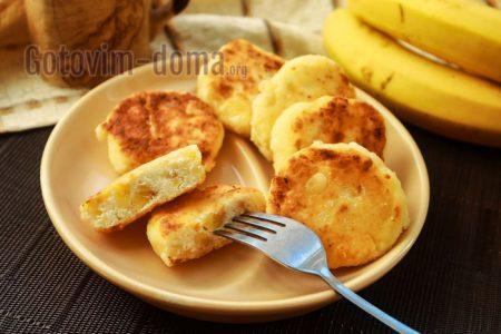 вкусные сырники с бананом рецепт с фото