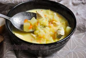 сырный суп быстро и просто