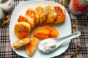 Сырники с песиками вкусные