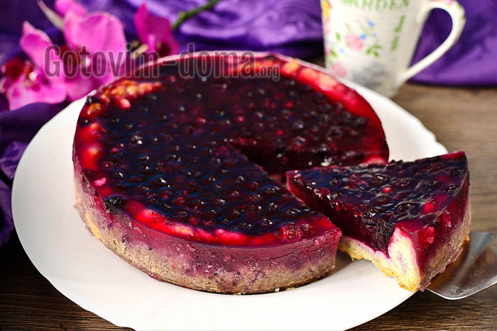 Смородиновый пирог рецепт с фото