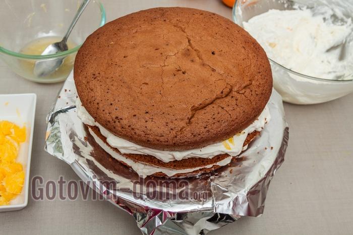 Следующий слой торта.