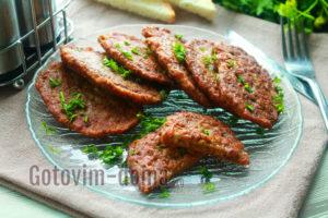 печеночные оладьи из куриной печени рецепт пошагово