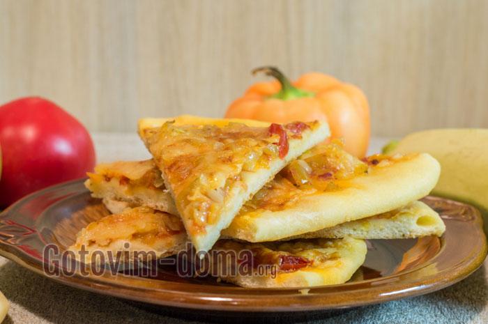 вкусная домашняя пицца рецепт с фото