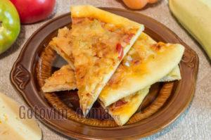Готовим пиццу дома в духовке рецепт простой