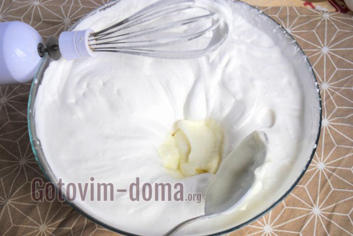 добавить сливочный сыр