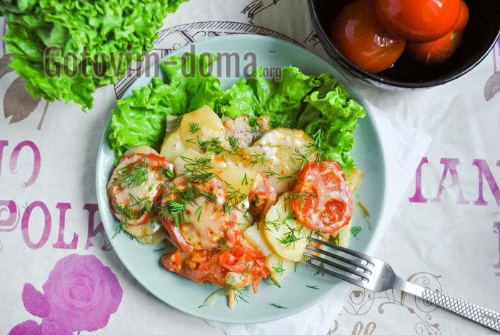 Как приготовить мясо по-французски с картошкой в мультиварке, рецепт с фото
