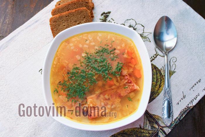 как приготовить суп из нута