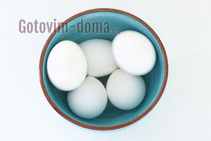отварили яйца