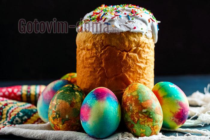 как раскрашивать пасхальные яйца