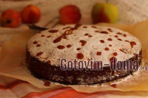 Малиновый пирог в духовке