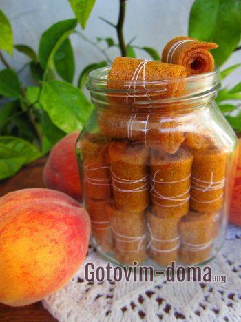 Вкусный лаваш из фруктов в банке