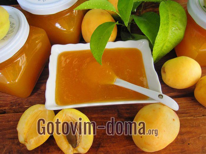 Вкусный густой абрикосовый джем на зиму рецепт с фото