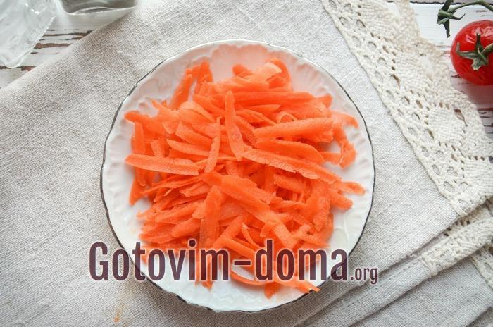 Морковь для ухи из судака