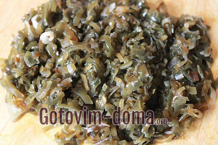 Консервированная морская капуста для салата