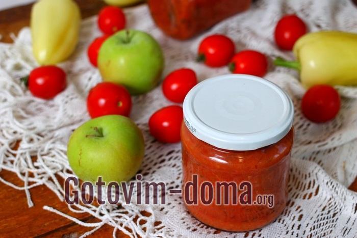 Самый вкуснейший томатный соус на зиму