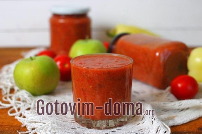 Как приготовить томатный соус на зиму