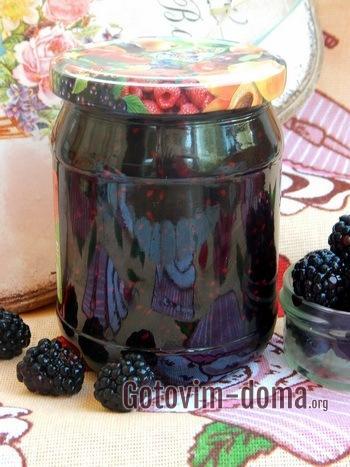 Варенье из ежевики с целыми ягодами на зиму