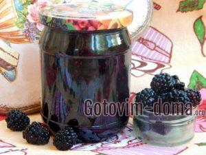 Варенье из ежевики с мятой, рецепт с фото