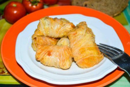Голубцы из пекинской капусты, рецепт с фото