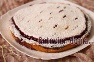 Пирог с малиной, рецепт с фото