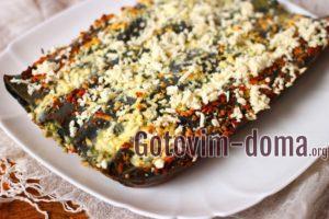 Пирог из черного лаваша в духовке, рецепт с фото