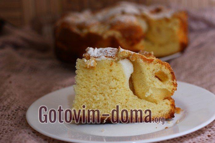 Самый вкусный персиковый пирог.
