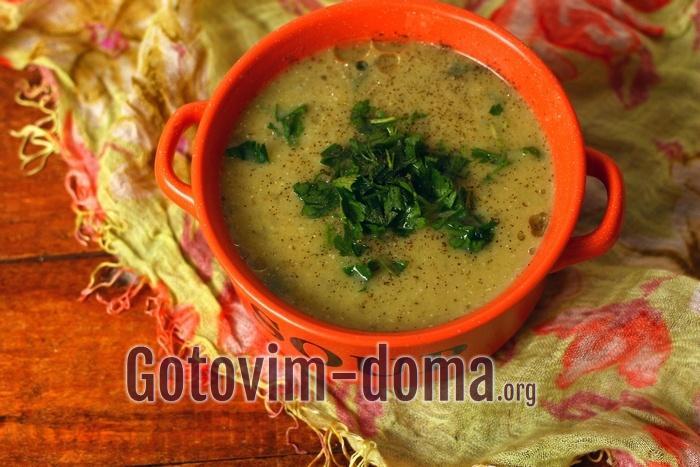 Суп пюре из картофеля рецепт с фото пошагово