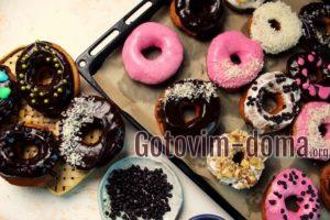 Пончики в домашних условиях, рецепт с фото