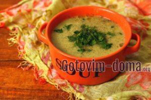 Суп-пюре из картофеля и лука-порей, рецепт с фото