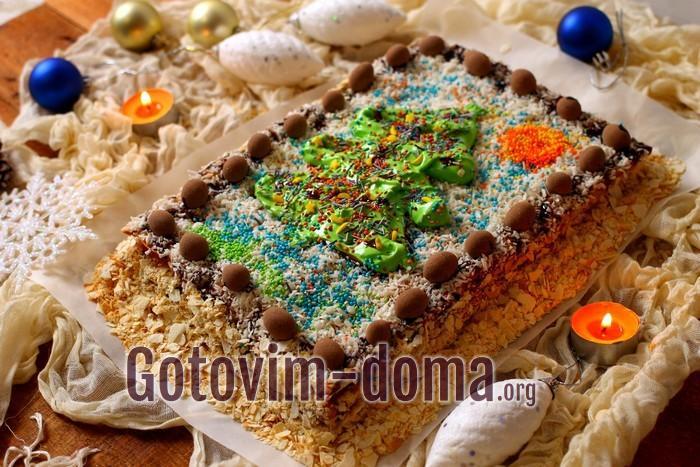 готовим торт наполеон