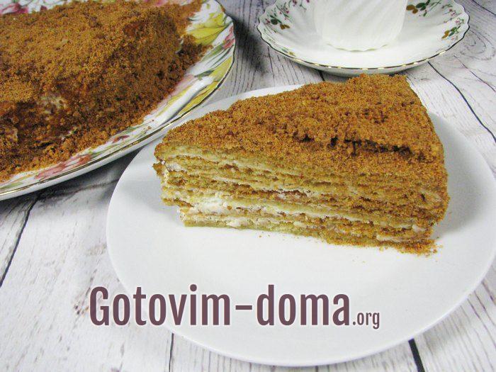 Как приготовить и украсить торт Медовик