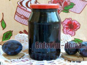 Варенье из сливы с какао на зиму