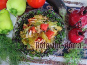 Армянский салат из баклажанов, рецепт с фото