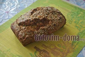 Хлеб с кабачком к чаю, рецепт с фото