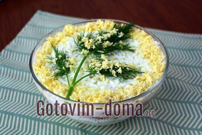 Как приготовить салат Мимоза