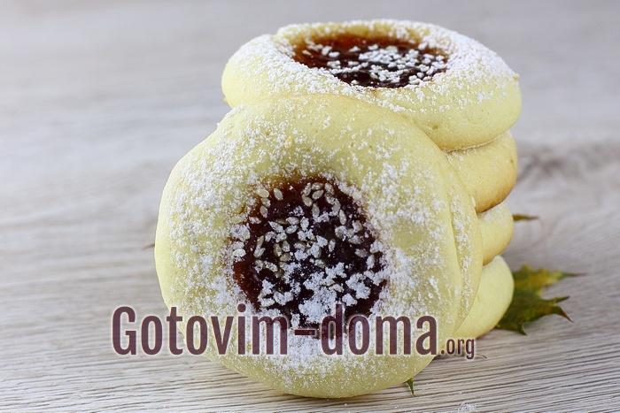 Домашнее печенье на растительном масле.