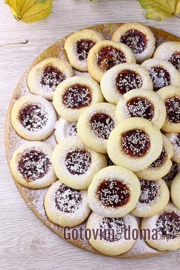 Как приготовить печенье на растительном масле.