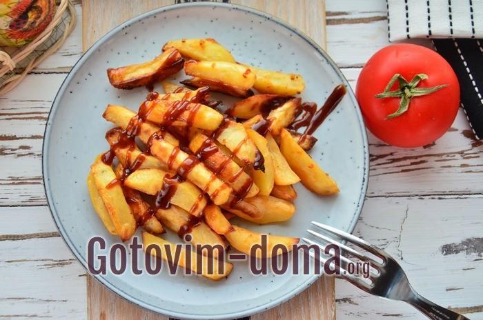 Как приготовить картофель вкусно и быстро.