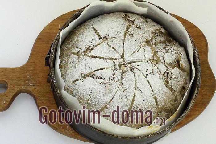Цельнозерновой хлеб готов.