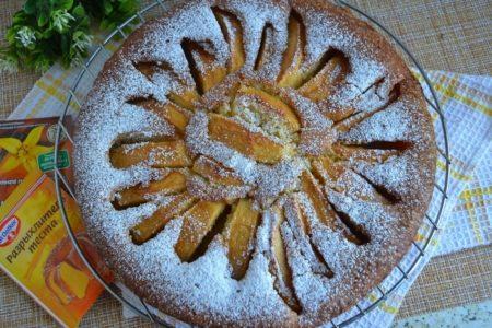 Венский пирог с яблоками.