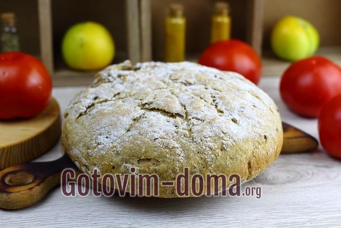 Хлеб из цельнозерновой муки рецепт.