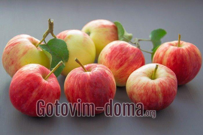 Яблоки поспели.