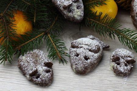 Шоколадное печенье Мышата.
